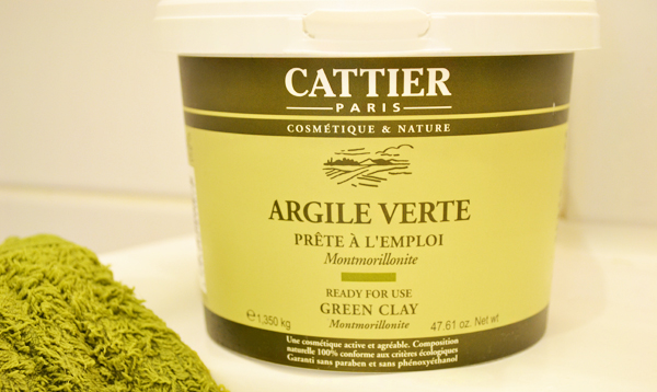 cattier argile verte ___ - Masque Argile Cheveux Colors