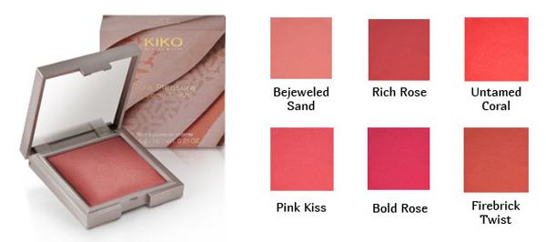 Kiko lavish oriental blush creme