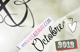 Ma Boite à Beauté - Octobre 2012