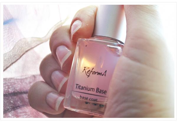 reforma titanium base