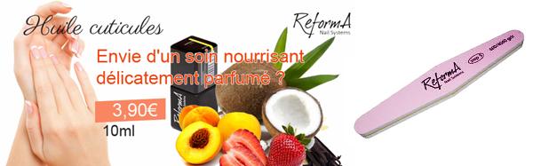 reforma huile cuticule