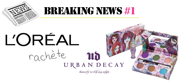 rachat urban decay l'oreal