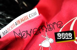 Ma Boite à Beauté - Novembre 2012