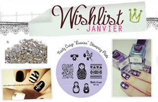 Wishlist Janvier / Mes envies - Mes inspirations