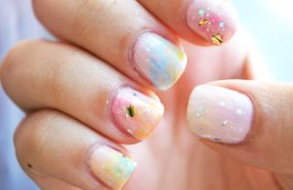 Finir l'été en Pastel : tuto nail-art