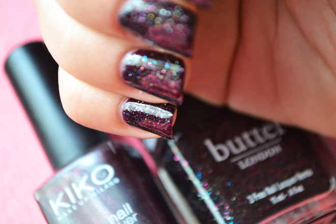 burgundy new black kiko butter london