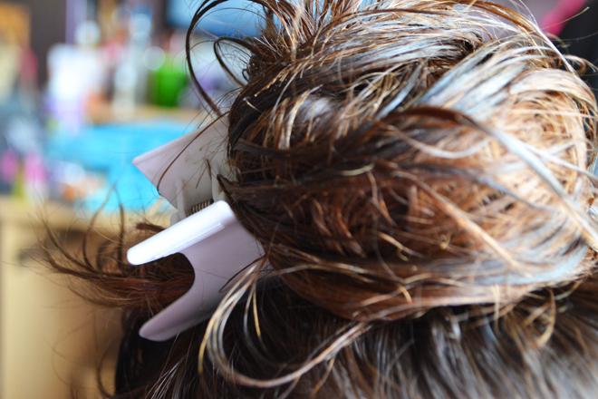 recette cheveux abimés karité argan