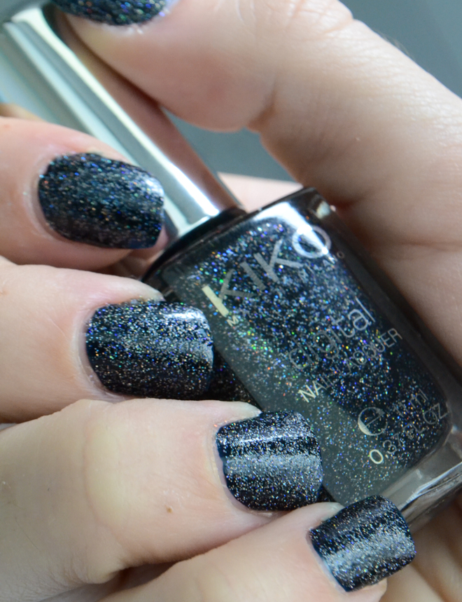 kiko digital emotion vernis techno black
