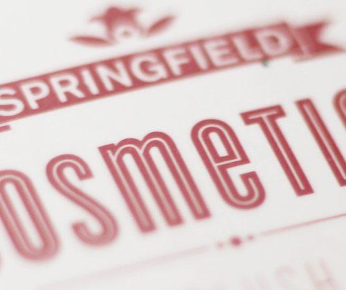 La jolie découverte du jour : les cosmétiques Springfield