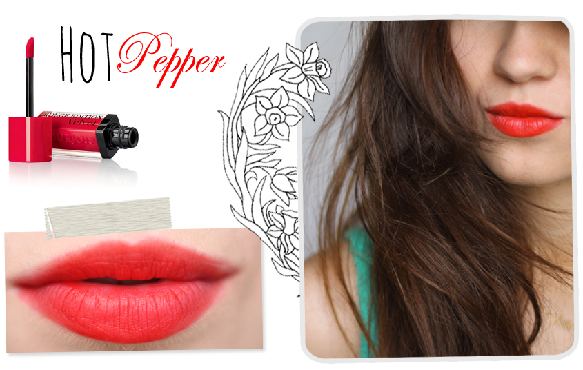 Bourjois Rouge Edition Velvet Hot Pepper