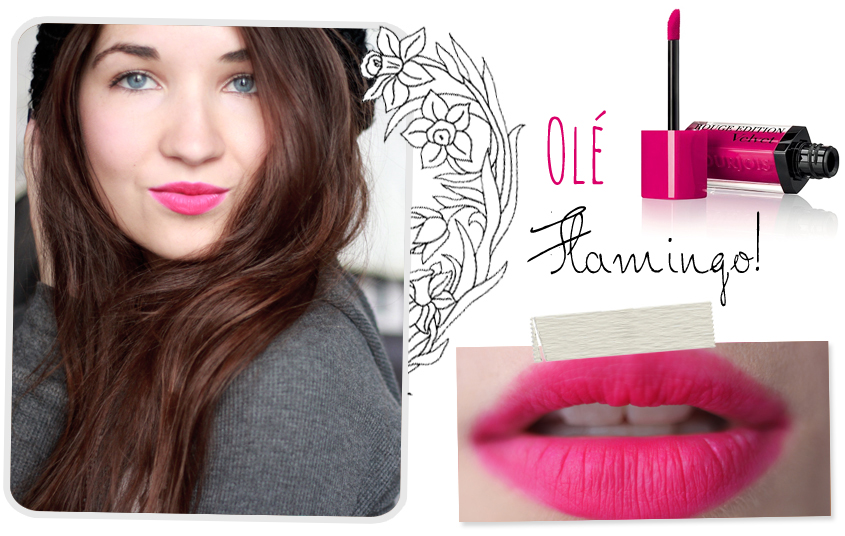Bourjois Rouge Edition Velvet Ole Flamingo