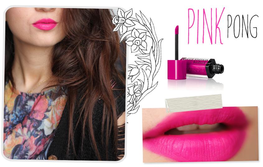 Bourjois Rouge Edition Velvet Pink Pong