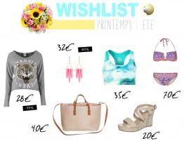 Wishlist   Le printemps/été avec Zalando
