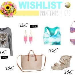 Wishlist | Le printemps/été avec Zalando