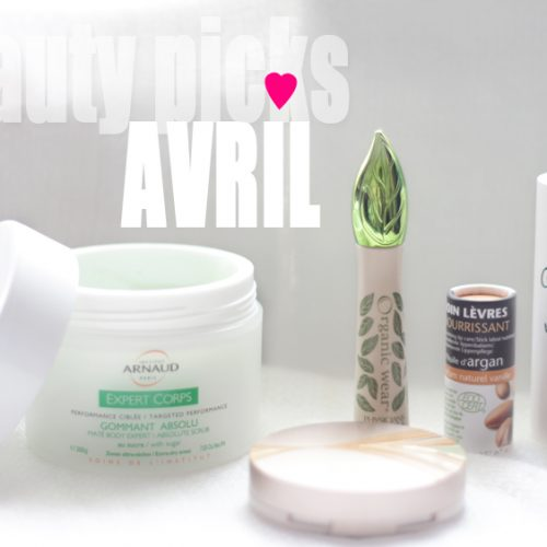 Mes 5 indispensables d'avril