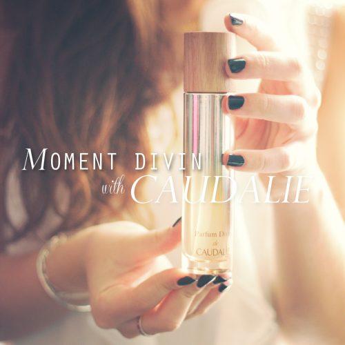 Moment Divin avec le Parfum Divin de Caudalie