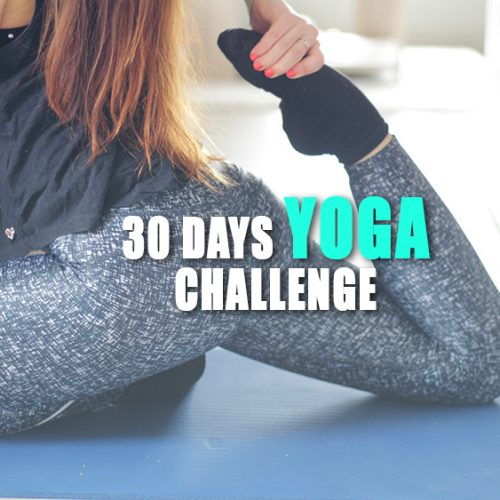 30 days YOGA challenge