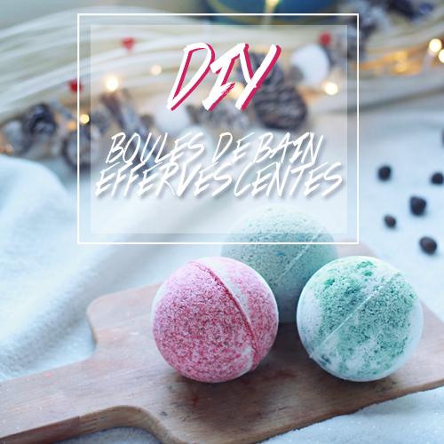 DIY #3 Des boules de bain effervescentes - Edition de Noël