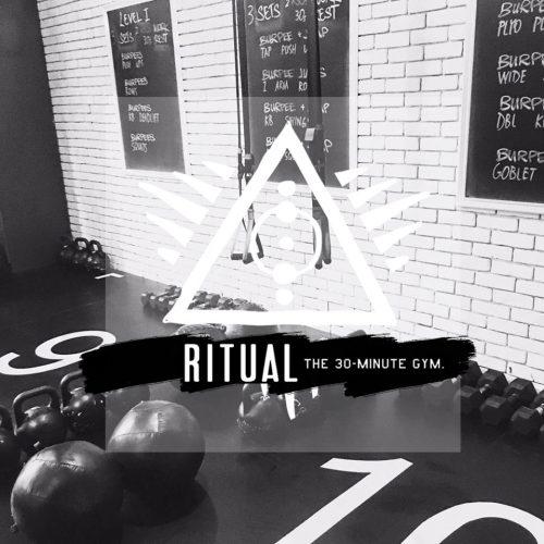 J'ai testé Ritual - ou la salle de sport en 30 minutes tout compris