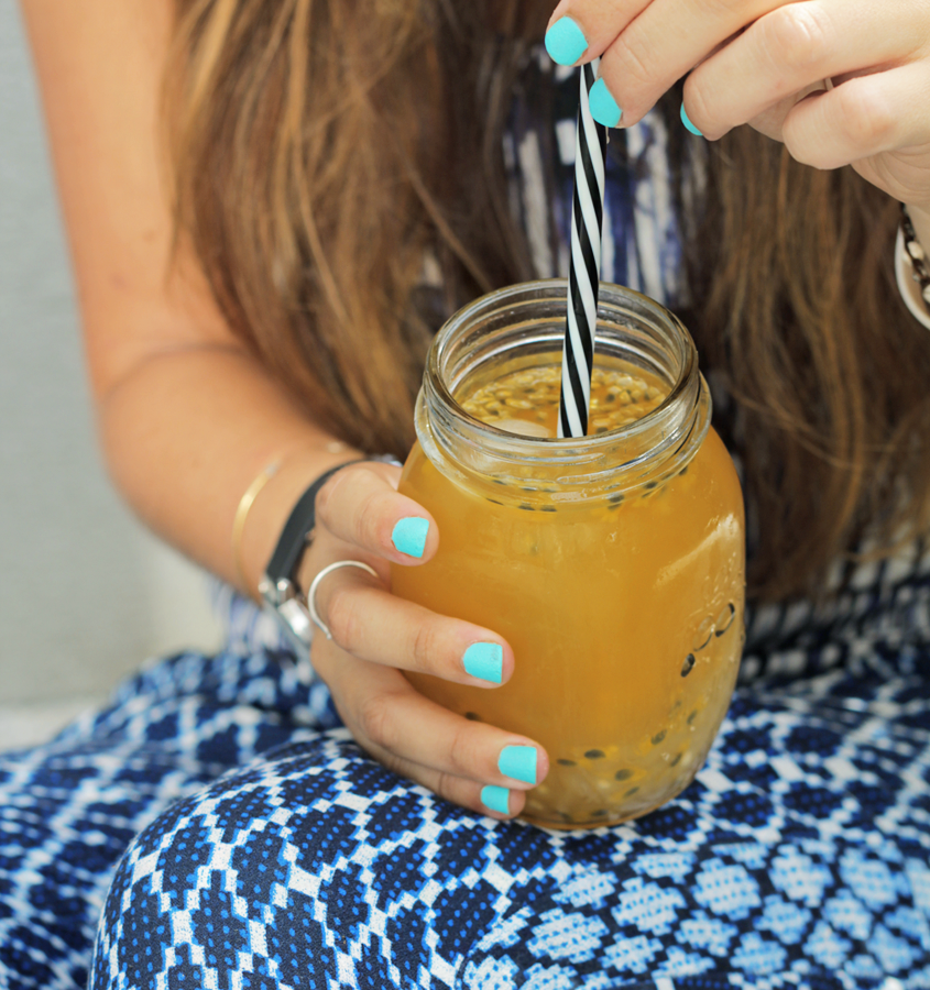 recette bubble tea fruit passion