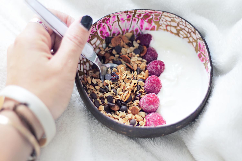 granola protéiné recette